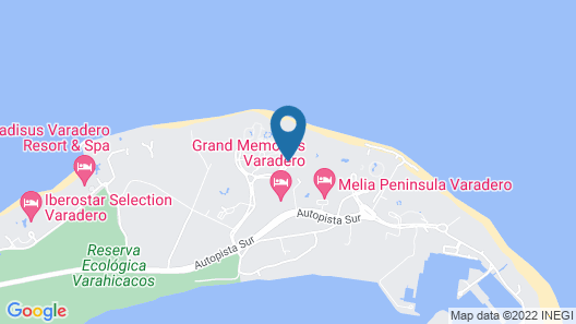 Sanctuary at Grand Memories Varadero - Adults Only - All Inclusive Map
