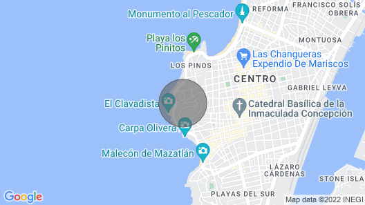 Perfect Location! Stunning Views and a Quick Walk to Olas Altas and Centro Map