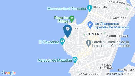 Hotel Boutique Casa Lulu Map