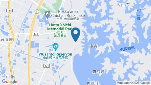 Wusanto Huching Resort Hotel Map
