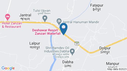 Deshawar Resort Map