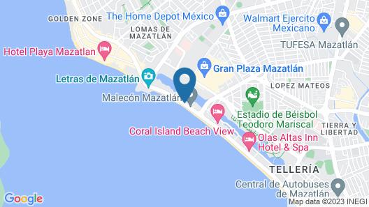 Don Pelayo Pacific Beach Map