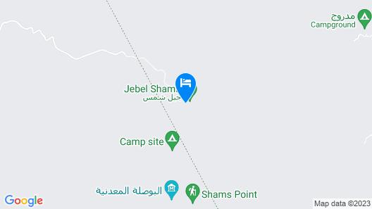 Sama Heights Resort Jebel Shams Map