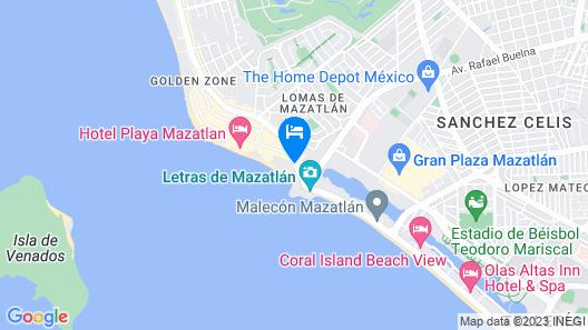 Emporio Mazatlan Map