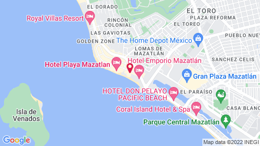 Gaviana Resort Map