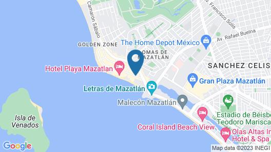 Hotel Playa Bonita Map