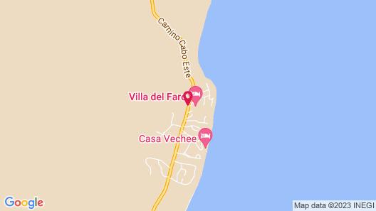 Villa del Faro Map