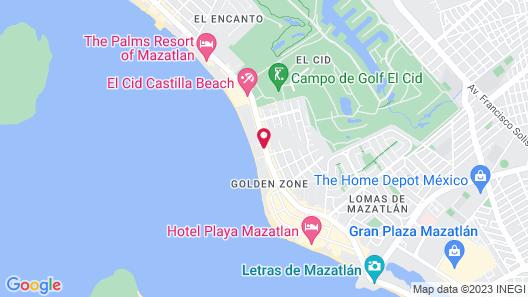 Royal Villas Resort Map