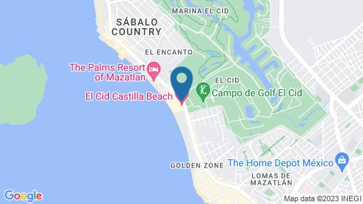 El Cid Granada Map