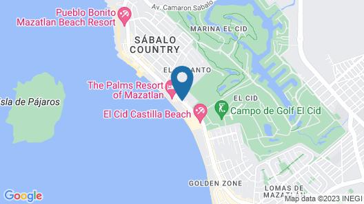 DoubleTree by Hilton Mazatlan Map