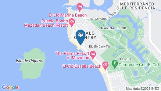 Mision Mazatlán Map