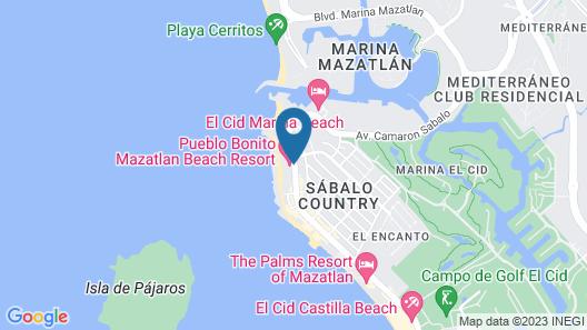 Pueblo Bonito Mazatlan - All Inclusive Map