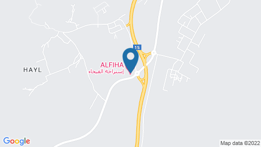 Al Feyhaa Resthouse Map