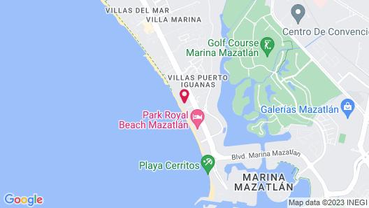 Park Inn by Radisson Mazatlán Map