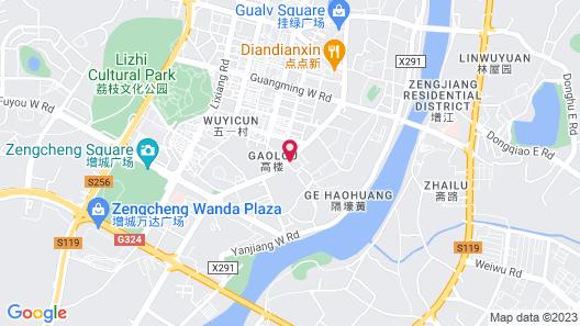 Vyluk J Hotel Wanda Plaza Xiajie Street Map