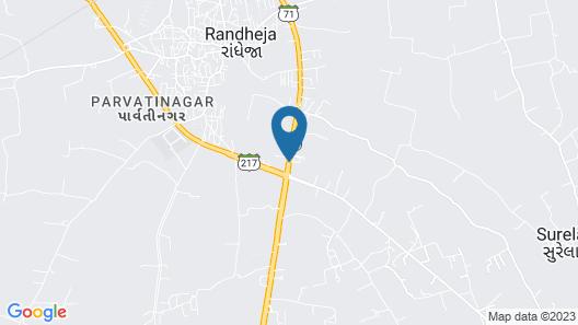 Hotel Prayosha Map