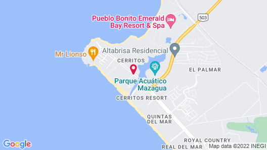 Riu Emerald Bay All Inclusive Map