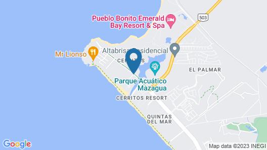 Riu Emerald Bay All Inclusive Map