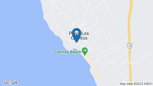 Cerritos Beach Hotel Desert Moon Map