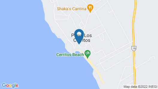 Cerritos Surf Town Beach Front Hotel and SPA Map