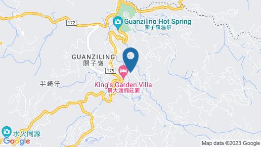 Guanling lin Kuei Yuan Spring Resort Map