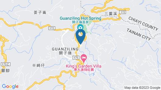 Guan Zi Ling Toong Mao Spa Resort Map