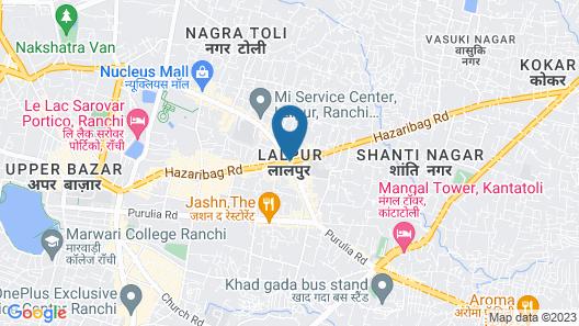 Hotel Raindew Map