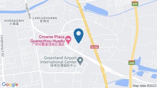 Vienna Hotel Guangzhou Baiyun Airport Branch Map