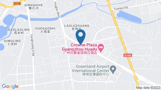 Crowne Plaza Guangzhou Huadu, an IHG Hotel Map