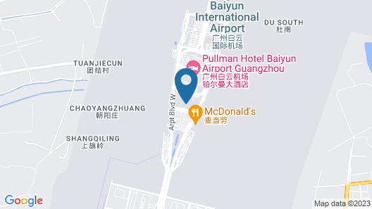 GUANGZHOU XIANGXIELI HOTEL Map
