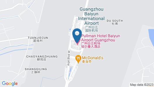 Pullman Guangzhou Baiyun Airport Map