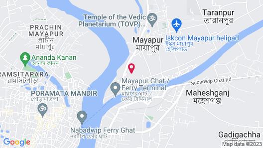 SPOT ON 49049 Shree Chaitanya Math Saraswati Bhawan Map