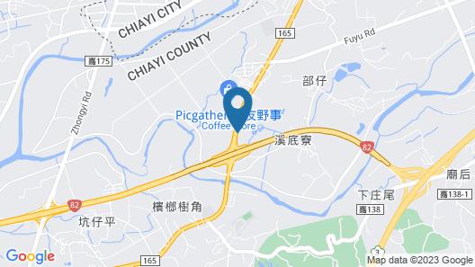 Hotel Shumei Chiayi Map