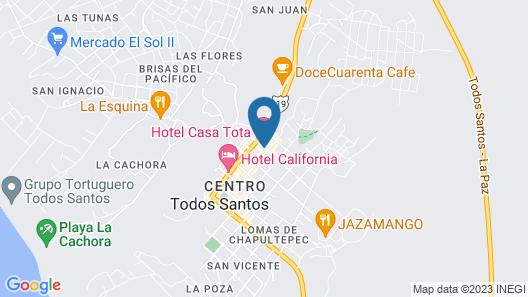 Hotel Casa Tota Map