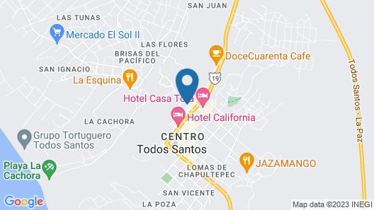 Guaycura Boutique Hotel Beach Club & Spa Map