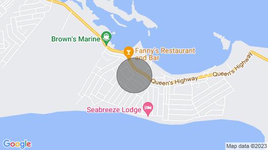 Palmetto Place Exuma Map
