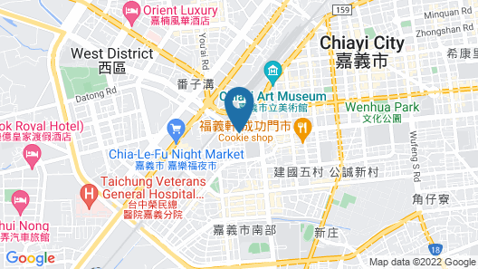 Hotel Day Plus Map