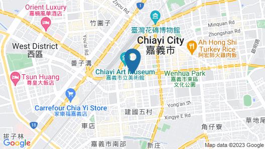 De rêve Express Hotel Map