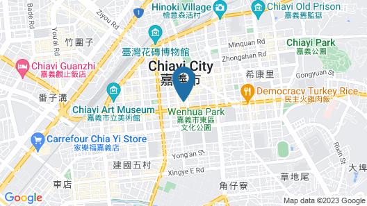 Lan Kwai Fong Garden Hotel Map