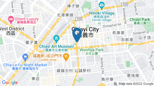 Gene Long Haiyatt Hotel Map