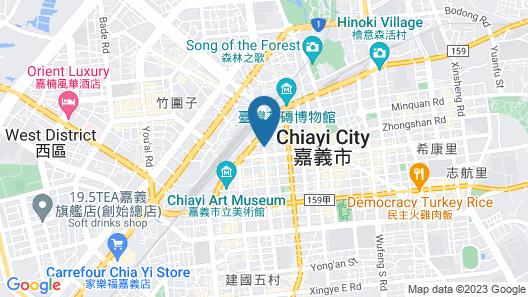 CHIAYI KING HOTEL Map