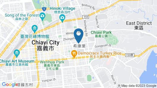 South Urban Hotel Map