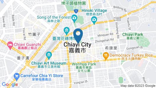 Orange Hotel- Wenhua Map