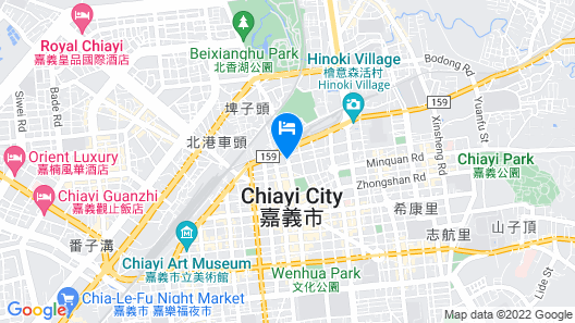 Maison de Chine Hotel Chiayi Map