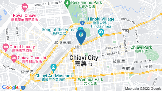 Chiayi Look Hotel Map