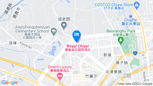 Royal Chiayi Hotel Map