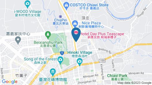 Teascape Chiayi Map