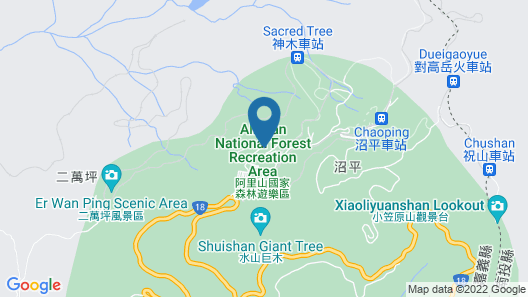 Gau Shan Ching Hotel Map