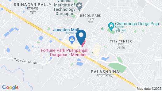 Fortune Park Pushpanjali Durgapur Map