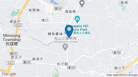 Garden Hostel Map